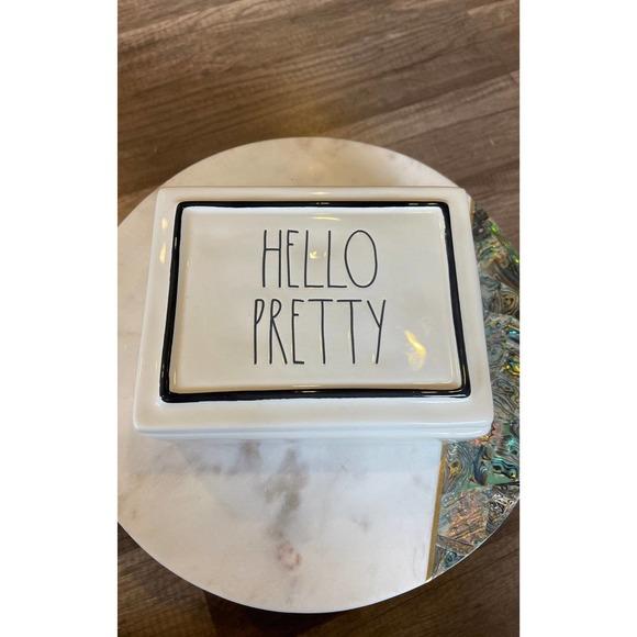 Rae Dunn Hello Pretty Jewelry Box